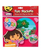 Colorforms Fun Pockets Dora The Explorer