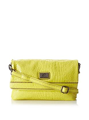 Kenneth Cole Reaction Women's Mercer Cross-Body, Chartreuse
