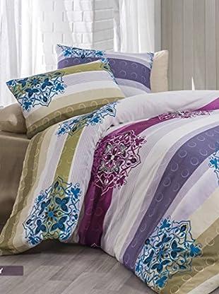 Colors Couture Bettdecke und Kissenbezug Trendy