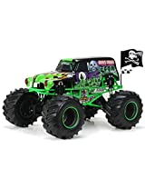 New Bright R/C F/F Monster Jam with Light, Sound and Try-me includes 12.8V Power Pack, Batteries and Charger (1:8 Scale)