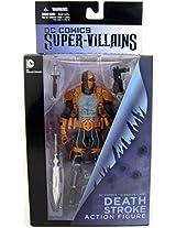 Dc Collectibles Super Villains Comics: Deathstroke Action Figure By Dc Collectibles By Dc Collectibles