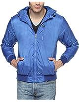 Campus Sutra Royal Blue Mens Jacket (AW15_JK_M_P8_RB_XL)