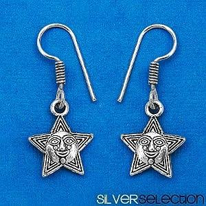 Silver Selection Metal Earrings