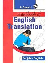 Handbook of English Translation