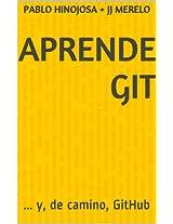 Aprende Git: ... y, de camino, GitHub (Spanish Edition)