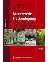 Mauerwerkstrockenlegung: Von Den Grundlagen Zur Praktischen Anwendung (Altbausanierung)