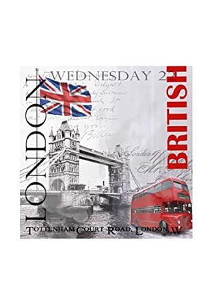 PlatinArt Cuadro Very British 100 x 100