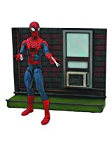 Diamond Select Toys Marvel Select Amazing Spider Man 2 Action Figure with Base, Multi Color