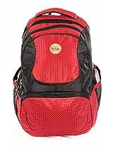 TLC Terminal Red Laptop 15.6 inch Backpack Bag