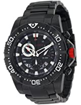 red line Men's RL-90008-11-BB Racer Black Stainless Steel Watch