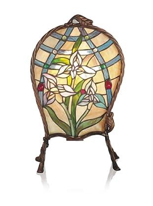 Dale Tiffany Accent Lamp, Multi