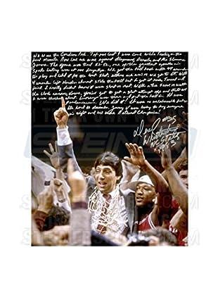Steiner Sports Memorabilia Dereck Whittenburg Signed NCAA Championship Win Story Photo, 20