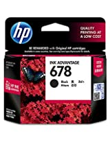 HP 678 Black Ink Advantage Cartridge (CZ107AA)