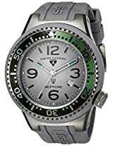 Swiss Legend Watches, Men's Neptune Grey Dial Grey Silicone, Model 21818S-B-MB