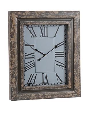 Amadeus Reloj Mural Madera Vidrio 70 x 58 cm