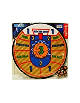 Sport Darts Basketball Dart Board Game With Easy Stick Velcro Balls