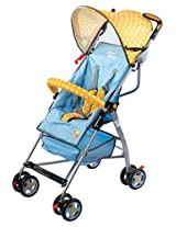 Mee Mee MM8381 Baby Stroller (Light Blue)
