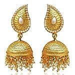 Jhumki Golden Earrings