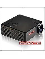 "LED Projector 80"" max screen / USB - HDMI - VGA - AV -SD CARD"