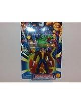 "1996 Toy Biz Marvel Universe 5"" Action Figure: Wolverine (Logan)- Retractable Claw Action"