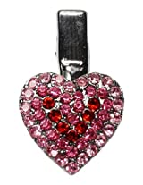 Mirage Pet Products Heart Clip for Pets, Pink