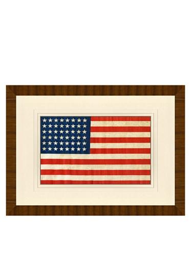 Reproduction of 48-Star American Flag Circa 1914-1959, 24