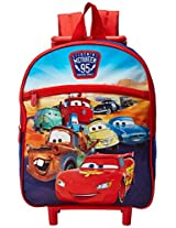 Disney Boys' Cars 12 Inch Rolling Backpack, Multi, One Size
