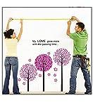 Pindia Fancy Beautiful Quote Tree Design Wall Sticker
