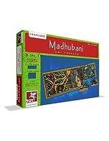 ToyKraft Madhubani Art Puzzle 3 in 1
