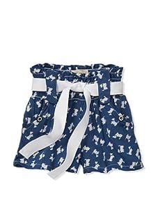 Lunchbox Girl's Scotty Shorts (Blue)