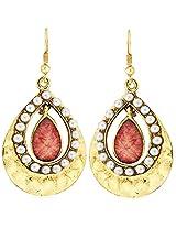 Kshitij Jewels Classic Gold Plated Hangging Earring KJM045