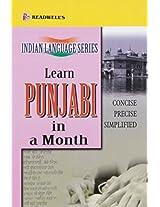 Learn Punjabi in a Month (Indian Language Series)