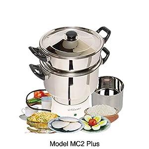 Maestro Electric Steam Cooker Model MC2 Plus