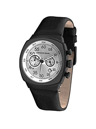 ARMAND BASI A0481G01 - Reloj de Caballero movimiento de cuarzo con correa de piel Negra