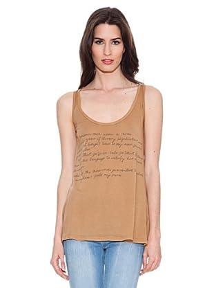 Santa Bárbara Camiseta Print (Camel)
