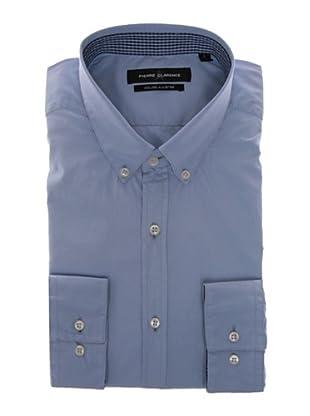 Pierre Clarence Camisa de manga larga (Azul)