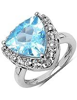 Silverona Topaz Silver Ring