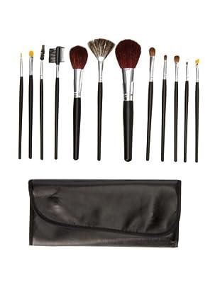 Beaute Basics 12-Piece Brush Set with Case