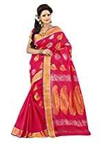 Mimosa Cotton Silk Zari Saree (Mp-09-Rani _Rani)