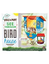 Creative Roots Build and Paint See Through Birdhouse Kit