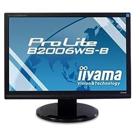 iiyama 20インチワイド光沢液晶ディスプレイ PLE2006WS