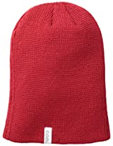Coal Men's Frena Solid Unisex Beanie, Red, One Size