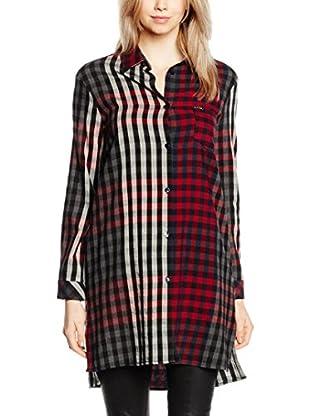 Guess Camisa Mujer Mixed Check