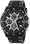 U.S. Polo Assn. Sport Men's US9140 Sport Watch with Black Rubber Band
