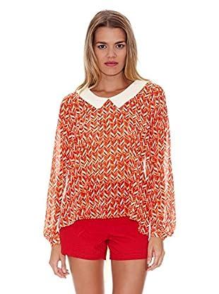 Lavand Blusa Fantasía (Naranja)