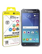 AMZER Kristal Tempered Glass HD Screen Protector for Samsung Galaxy J5 - Retail Packaging - HD Clear