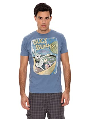 Springfield Camiseta Bugs Space (Azul)