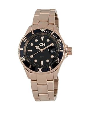 Carlo Monti Herren Armbanduhr XL Varese Analog Edelstahl beschichtet CM507 328