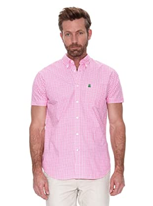 Cortefiel Camisa Mc Awati Cuadro Vichy (Rosa)