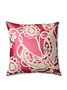 Trina Turk Embroidered Butterfly Pillow (Pink)